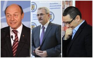 Traian Basescu, Liviu Dragnea, Victor Ponta
