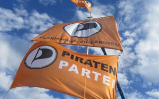 steag partidul piratilor Germania