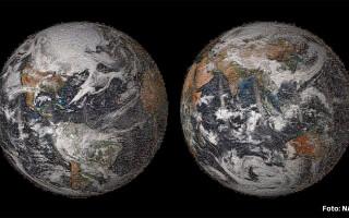 selfie NASA ziua pamantului