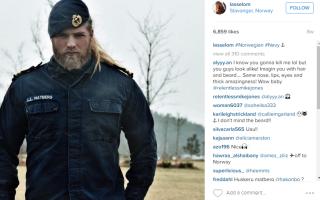 soldat norvegian Instagram