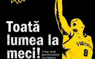 """Electrizam tribunele la """"U"""" BT – CSM Oradea"""