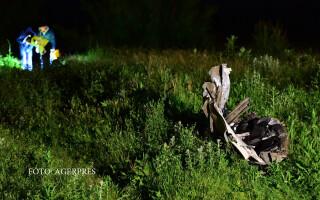 Politisti fac cercetari la locul unui accident foarte grav, petrecut pe drumul dinspre Corbeanca spre Buftea, in urma caruia patronul Hexi Pharma, Dan Condrea, a decedat