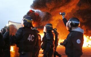 protest benzinarii franta - agerpres
