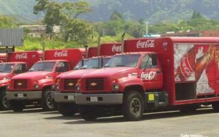 camioane Coca Cola