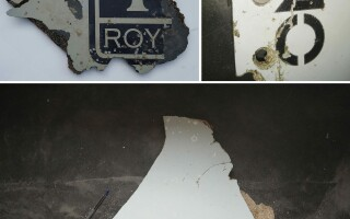 fragmente MH370 - Agerpres