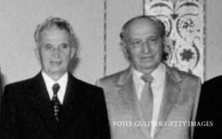 Nicolae Ceausescu si Todor Jivkov