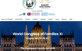 site Congres Familie