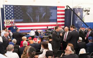 deschiderea ambasadei SUA in Ierusalim