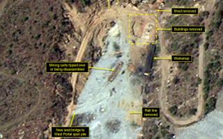 Imagini satelit Coreea de Nord - 1