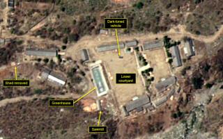 Imagini satelit Coreea de Nord - 8