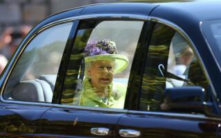 Regina Elisabeta la nunta lui Harry cu Meghan Markle