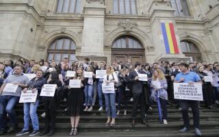 Protest al magistratilor