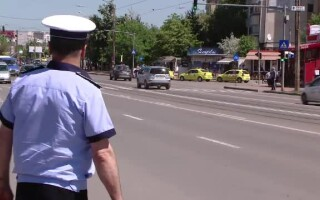 politist pe starda in Iasi