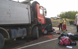 accident, ungaria, morti, microbuz,