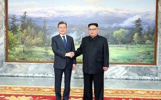 Kim Jong-un, Moon Jae-in - 4