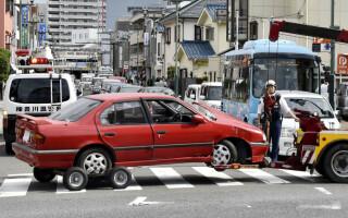 O maşină a intrat în mulţime în Japonia şi a ucis un pieton