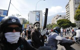 Proteste anti-guvernamentale in Venezuela