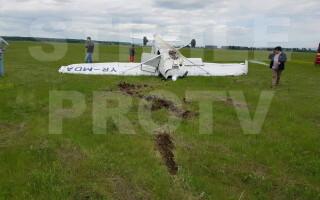 avion prăbușit Ploiești