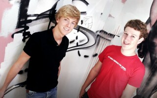 Chris Hughes si Mark Zuckerberg