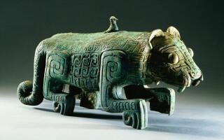 Statueta din perioada dinastiei Shang