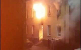 Incendiu într-un bloc din Germania, soldat cu un mort și 13 răniți
