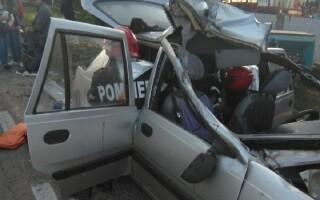 Accident grav în Giurgiu
