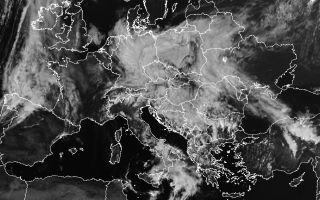 harta temperaturi Europa