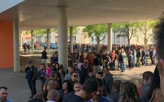 Românii votează la Ulm, Germania