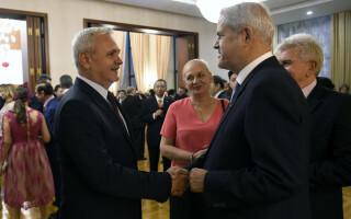 Adrian Năstase si Liviu Dragnea