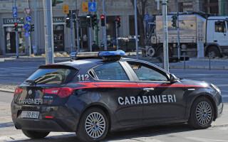 mașină carabinieri