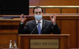 Orban: Ponta şi Ciolacu pot fi amendați pentru că nu au purtat mască în Parlament