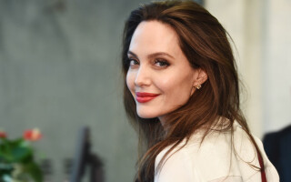 Angelina Jolie alături de primul soț, Jonny Lee Miller