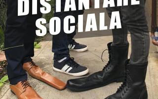 Modă în vreme de pandemie. Un producător de încălțăminte din Cluj a lansat pantofii de distanțare socială
