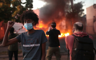Protest în Minneapolis