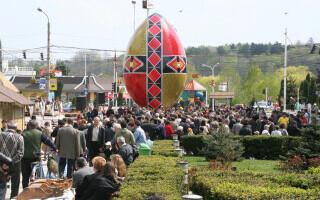 Cel mai mare ou de Paște din lume