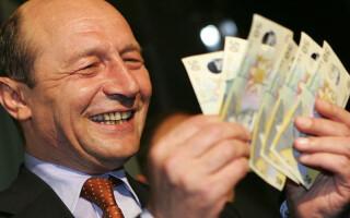 Traian Basescu bani