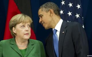 Angela Merkel si Barack Obama
