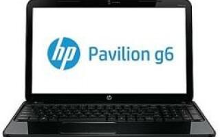 HP Pavilion g6-2303sg