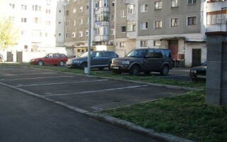 cartier, parcare, Arad