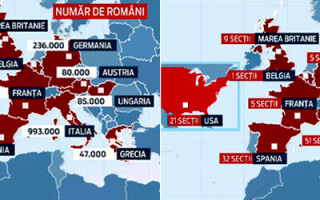 harti romani sectii de votare strainatate