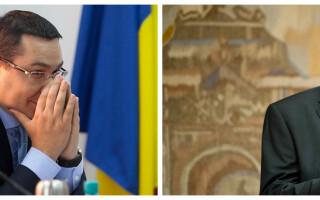 Klaus Iohannis, Victor Ponta - cover