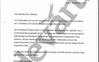 scrisoare Angela Merkel
