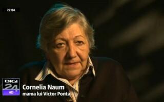 Cornelia Naum, mama lui Victor Ponta