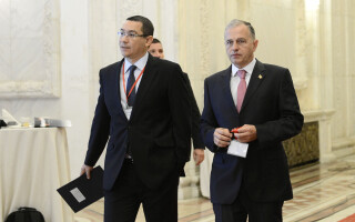 Mircea Geoana, Victor Ponta
