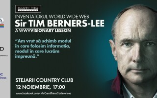 Afis Conferinta Tim Berners-Lee