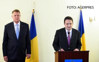 Klaus Iohannis si George Maior