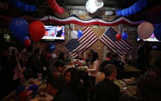 mexican intr-un bar in timpul alegerilor pentru Casa Alba