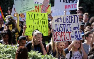 proteste anti-Trump in SUA