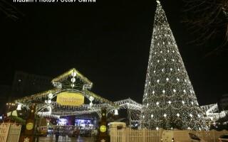Bucureștiul, în așteptarea sărbătorile de iarnă