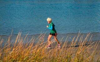 Maratonista octogenara